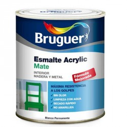 Acrilico Mate Bruguer