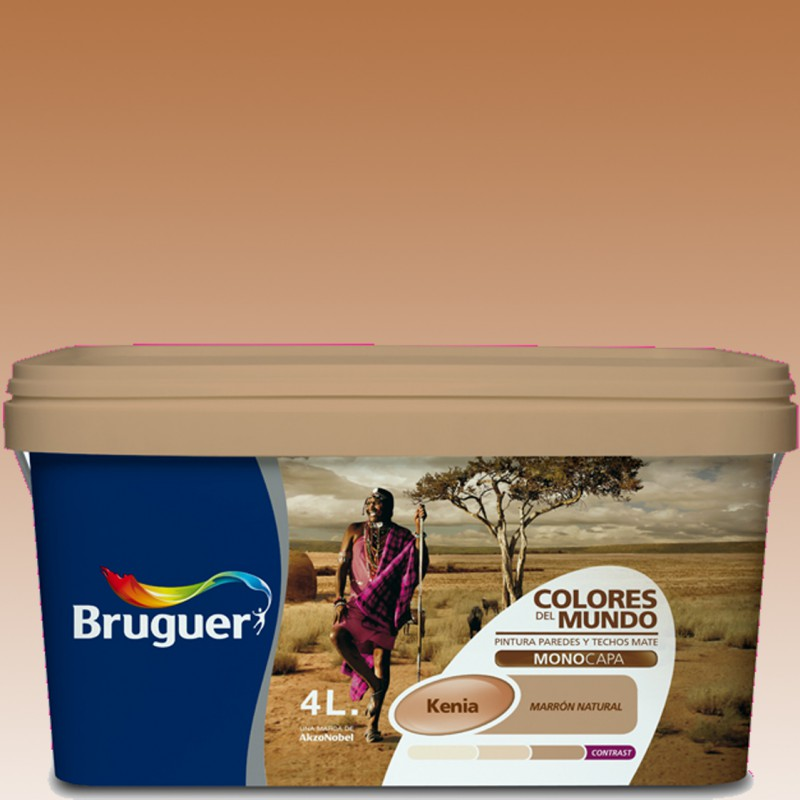 Kenya la casa de la pintura - Bruguer colores del mundo ...