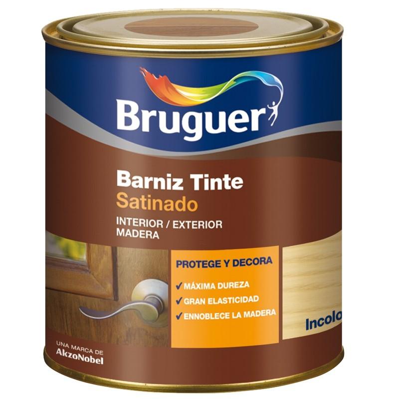Barniz tinte satinado bruguer la casa de la pintura - Tinte para pintura ...